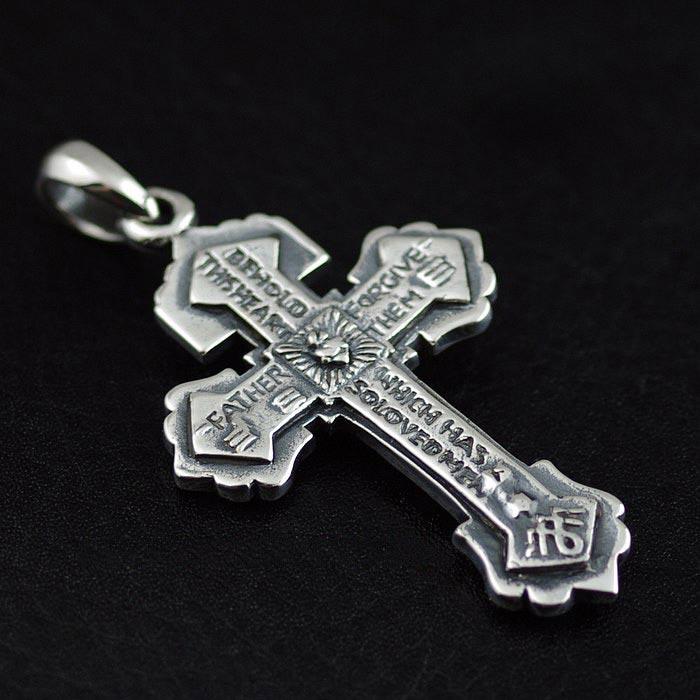 Japan gothic jewelry regret skeleton cross gothic silver pendant japan aloadofball Gallery