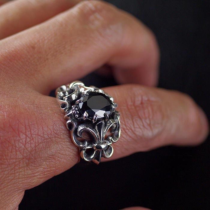 Japan Gothic Jewelry Flower Anchor Black Diamond Gothic Style ...