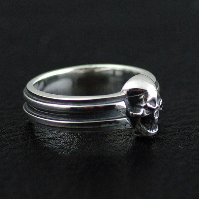 Japan Gothic Jewelry Gothic Skeleton Hendessy Skull Ring (Men Ring)