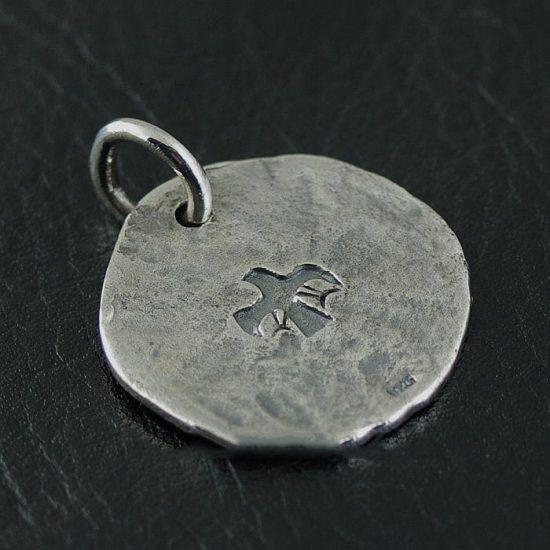 Japan Gothic Jewelry Indiana Style goro Design 925 Sterling Silver Sun Eagle Pendant (Men Pendant)